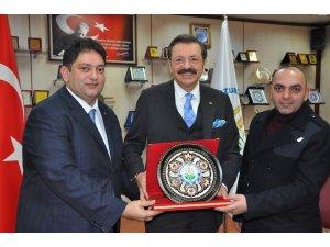 Türkiye Odalar ve Borsalar Birliği Yönetim Kurulu Başkanı Rifat Hisarcıklıoğlu ETB'de