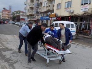 Kazada yaralanan engellileri hastaneye yetiştirmek için seferber oldular