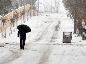 Trakya'da eğitime kar engeli