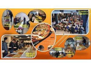 Düzce Üniversitesi açık büfe etkinlikleri ile beslenme hizmetlerini çeşitlendiriyor