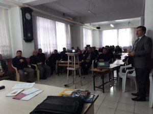 Kargı'da din görevlilerine eğitim verildi