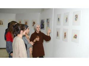 Güzel Sanatlar Fakültesi'nden karma suluboya sergisi