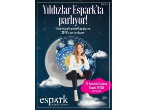 Astrolog Hande Kazanova Espark'a geliyor