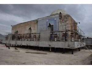Hasankeyf'te Eyyubi Camii taşınmaya hazırlanıyor