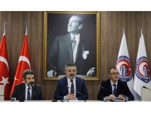 ÇOMÜ'de Bölüm Başkanları Toplantısının 4.'sü gerçekleşti
