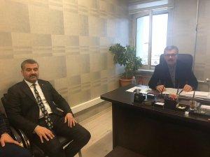 MHP'li Avşar'dan Seçim Kurulu müdürlerine ziyaret