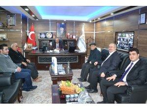 Deniz Feneri Derneği yetkililerinden Başkan Bozkurt'a ziyaret