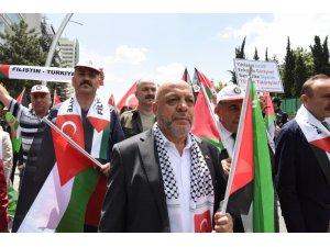 """Hak-İş Başkanı Arslan: """"Filistinlilerin yaşam hakkı gasp ediliyor"""""""