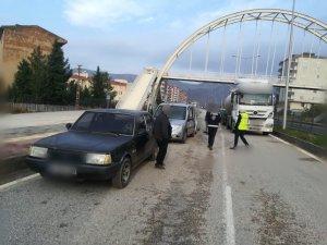 Mardin trafiğine dronlu takip