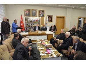 Ekrem Yüce, Erenler Belediyesini ziyaret etti