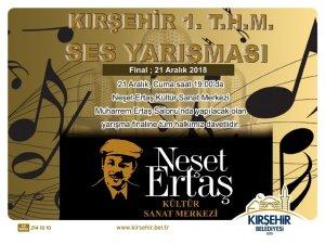 Türk Halk Müziği Ses Yarışmasında final heyecanı  yaşanacak