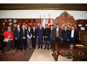 Çin Tongchuan Belediye heyeti, Nevşehir Belediyesini ziyaret etti