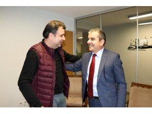 Özüm'den, Yerel Kültür Derneği Başkanı Kırık'a ziyaret