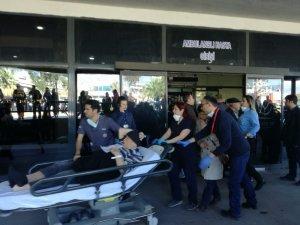 Ege Üniversitesi Hastanesi'nde yangın, hastalar tahliye edildi