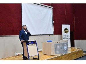 """Adıyaman Üniversitesinde """"Kur'an-Sünnet İlişkisi"""" Konferansı"""