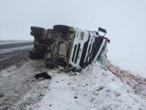 Sarıkamış'ta 2 ayrı trafik kazası: 4 yaralı