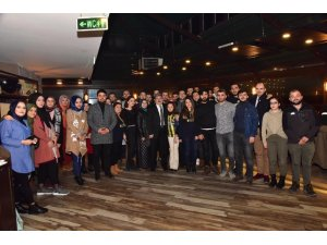 Bilecik'te ÜNİGFB taraftar grubu üyelerinden tanışma gecesi