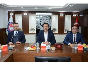 DTO Başkanı Erdoğan mermercilerle bir araya geldi