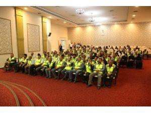Melikgazi Belediyesi'ne İş-Kur'dan 105 işçi alımı yapıldı