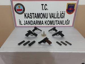 Jandarma ekiplerinden silah kaçakçılığı operasyonu: 1 tutuklu