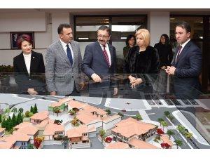 Başkan Tiryaki'nin konuğu Gagauzya First Ladysi İrina Vlah