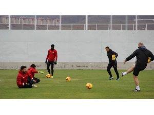 Sivasspor, Galatasaray maçı hazırlıklarını sürdürdü
