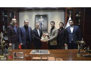 Anadolu Gençlik Derneği'nden Ataç'a ziyaret