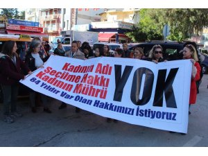 Antalyalı kadınlardan 'kadın aday' gösterilmemesine tepki