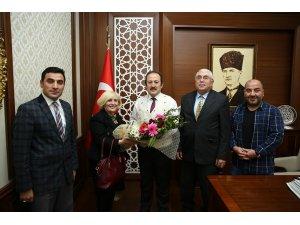Okul Aile Birliği yönetiminden Vali Ali Hamza Pehlivan'a ziyaret