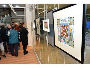 Deborah Semel Demirtaş'ın sergisi Foça'da ilgi gördü