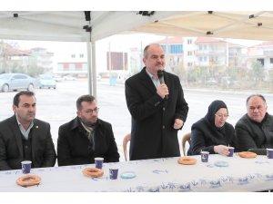 Başkan Gürlesin'den Cumhuriyet Mahallesi'ne müjde