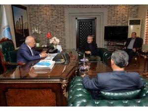 Silifkeli muhtarlardan Başkan Kocamaz'a ziyaret