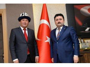 Kırgız heyeti Altıeylül'de