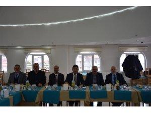 Yalova İl Genel Meclis üyelerinden Başkan Bozkurt'a ziyaret