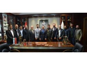 Muşlular Başkan Ataç'ı ziyaret etti