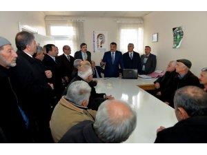 Başkan Gürkan, üreticilerle bir araya geldi