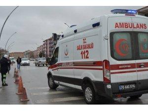Karaman'da otomobilin çarptığı çocuk yaralandı