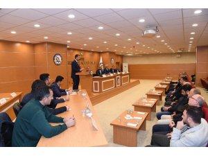Başkan Asya, Muş TSO meclis üyelerine hizmetlerini anlattı