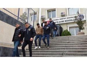 İstanbul'da hırsızların valizinde 2 buçuk kilogram uyuşturucu bulundu