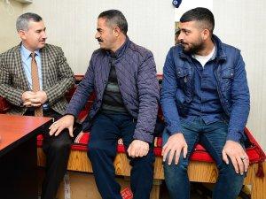 Başkan Çınar, esnaf ziyaretleri kapsamında taksicilerin misafiri oldu