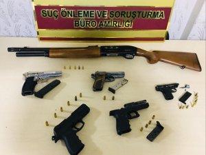 Ruhatsız silah satışı yapan bayiye operasyon