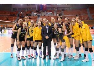 2019 CEV Şampiyonlar Ligi: Maritza Plovdiv: 0 - VakıfBank: 3