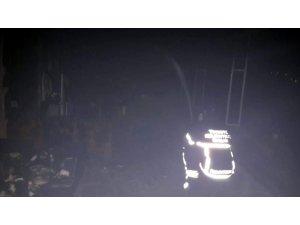 Datça'da 15 odalı pansiyon yangında kül oldu