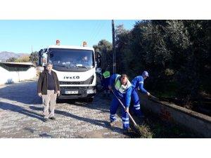 Büyükşehir Bozyurt'ta kapsamlı temizlik çalışması yaptı