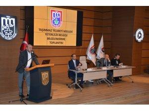 AYTO, emlakçılara Türkiye'de belgelendiren ilk oda oldu