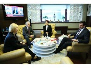Gagavuzya Özerk Cumhuriyeti Başkanı Vlah'tan Başkan Ak'a teşekkür ziyareti