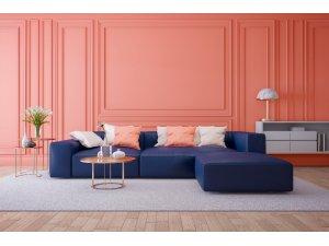 İç mekanların yeni trend rengi, 'Yaşayan Mercan'