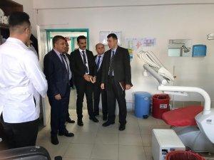 Müdür Sünnetçioğlu, Çaldıran Devlet Hastanesinde incelemelerde bulundu