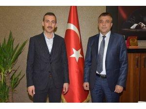 Kaymakam Çiçekli'den Müdür Sünnetçioğlu'na ziyaret