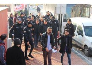 Kocaeli merkezli FETÖ operasyonunda gözaltına alınan 12 şüpheli adliyeye sevk edildi